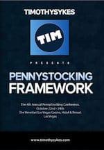 Tim Sykes Pennystocking Framework DVD