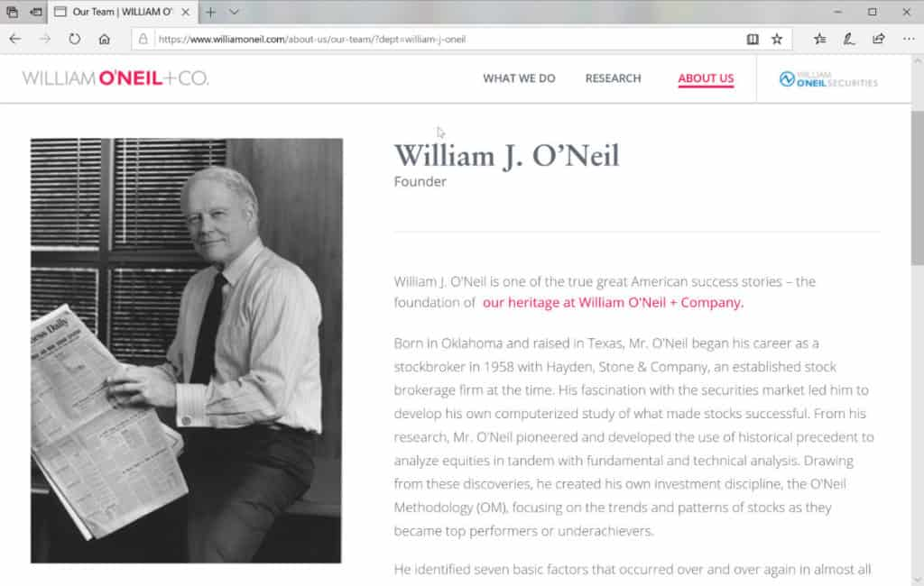 William J. O'Neil