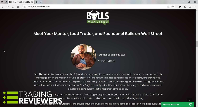 Bulls on Wall Street Trading Community
