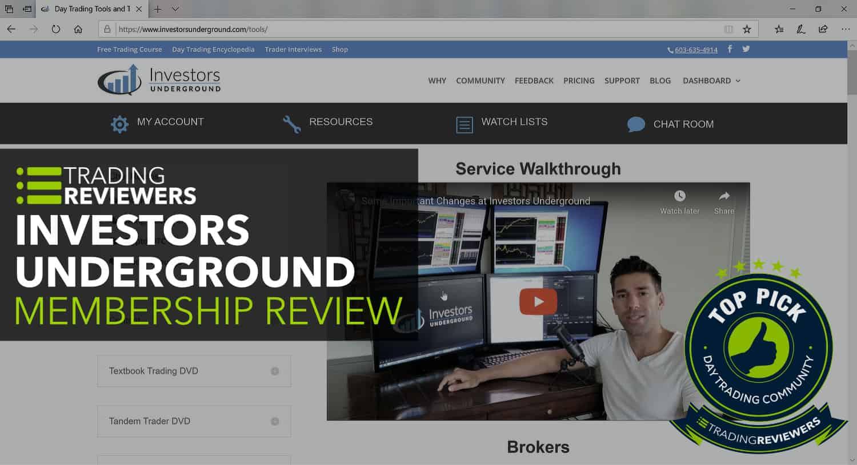 Investors Underground Review