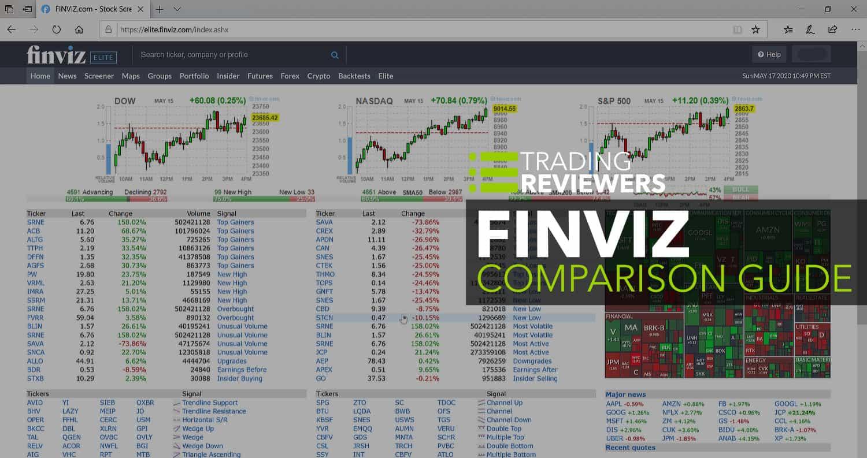 FINVIZ Elite vs. Registered vs. Free