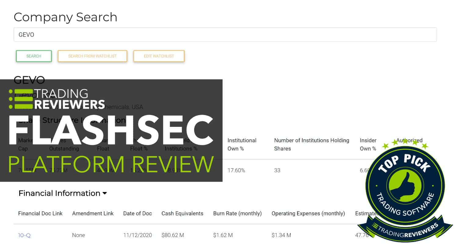 Flash SEC Review