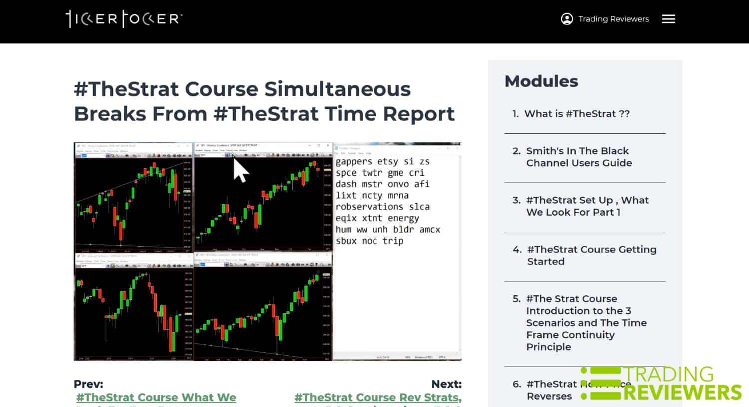The Strat Time Report